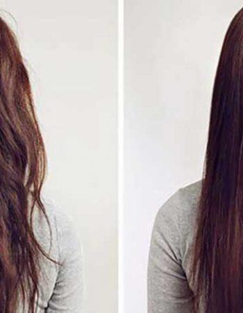 نمونه-کراتینه-صافی-مو